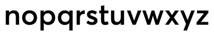 Averta SemiBold Font LOWERCASE
