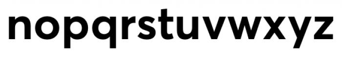 Averta Standard Bold Font LOWERCASE