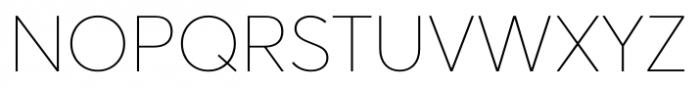 Averta Standard ExtraThin Font UPPERCASE
