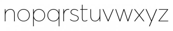Averta Standard ExtraThin Font LOWERCASE