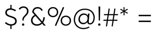 Averta Standard Light Font OTHER CHARS