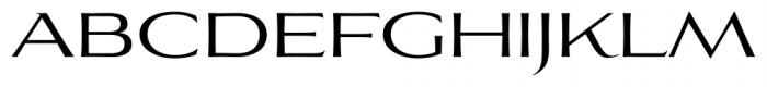 Aviano Flare Regular Font UPPERCASE