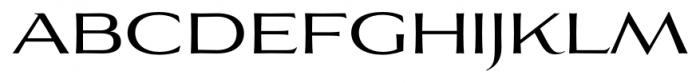 Aviano Flare Regular Font LOWERCASE