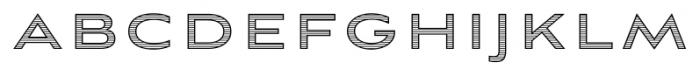 Aviano Sans Layers Horizontal Font LOWERCASE