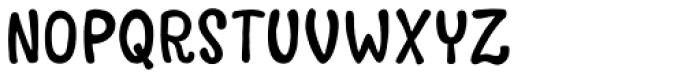 Avaline Script Bold Font UPPERCASE