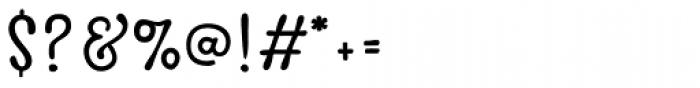 Avaline Script Regular Font OTHER CHARS