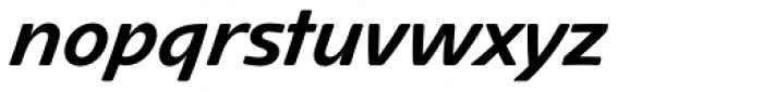 Avantis BQ Bold Font LOWERCASE