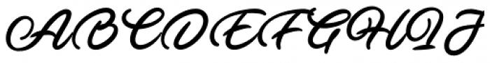 Ave Betwan Swash Font UPPERCASE