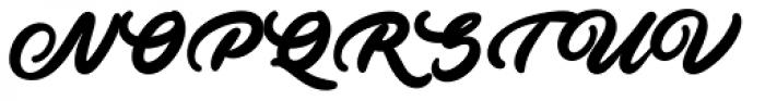 Ave Fedan Swash Font UPPERCASE