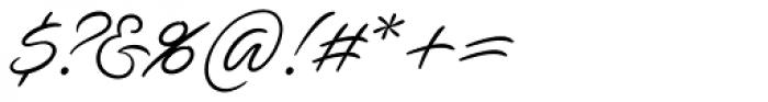Ave Utan Swash Font OTHER CHARS
