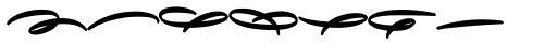 Avelana Deco Bold Font LOWERCASE