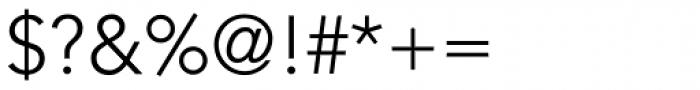 Avenir Light Font OTHER CHARS