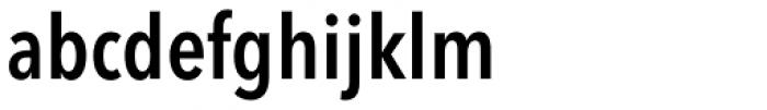 Avenir Next Pro Condensed Demi Font LOWERCASE