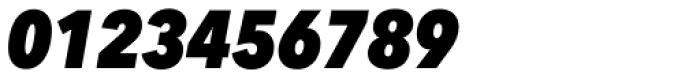 Avenir Next Pro Condensed Heavy Italic Font OTHER CHARS