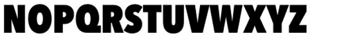 Avenir Next Pro Condensed Heavy Font UPPERCASE