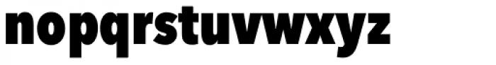 Avenir Next Pro Condensed Heavy Font LOWERCASE