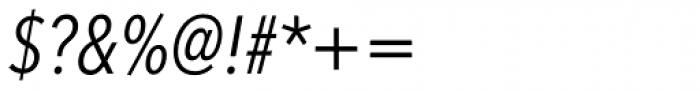Avenir Next Pro Condensed Italic Font OTHER CHARS