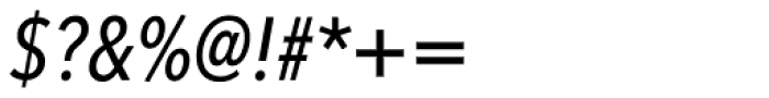 Avenir Next Pro Condensed Medium Italic Font OTHER CHARS