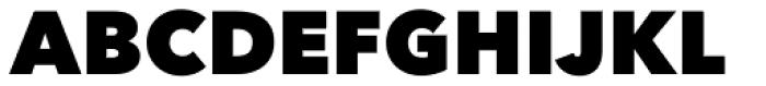 Avenir Next Pro Heavy Font UPPERCASE