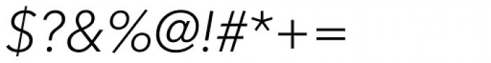 Avenir Next Pro Light Italic Font OTHER CHARS