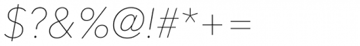 Avenir Next Pro UltraLight Italic Font OTHER CHARS