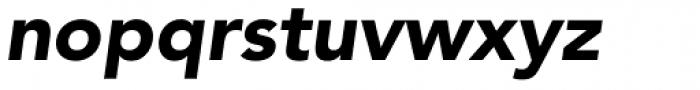 Avenir Pro 95 Black Oblique Font LOWERCASE