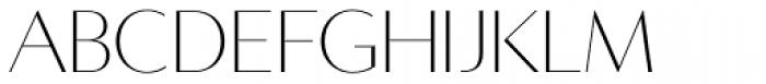 Averes Title Roman Light Font LOWERCASE