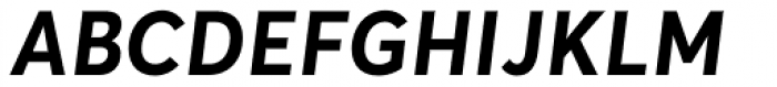 Averta Bold Italic Font UPPERCASE