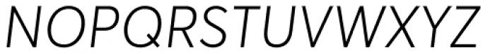 Averta Cyr Light Italic Font UPPERCASE
