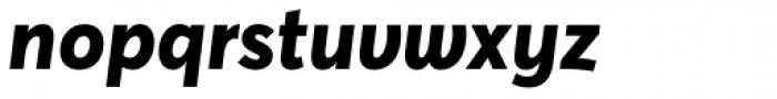 Averta ExtraBold Italic Font LOWERCASE