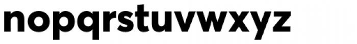 Averta ExtraBold Font LOWERCASE