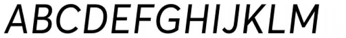 Averta Italic Font UPPERCASE