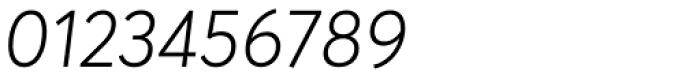 Averta Light Italic Font OTHER CHARS