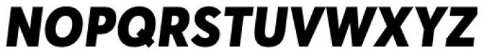 Averta Std Black Italic Font UPPERCASE