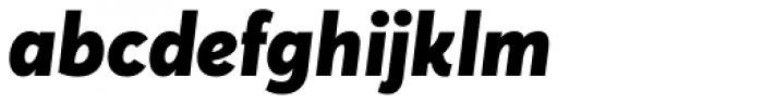 Averta Std Black Italic Font LOWERCASE