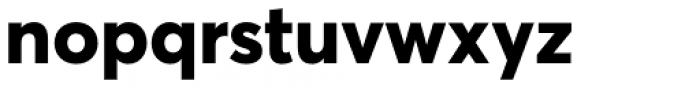 Averta Std Cyr ExtraBold Font LOWERCASE