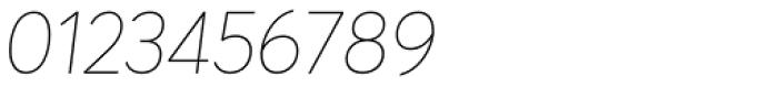 Averta Std ExtraThin Italic Font OTHER CHARS