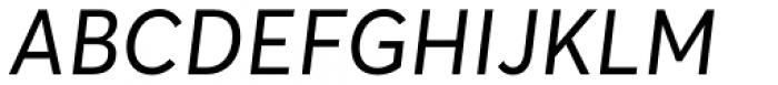 Averta Std PE Italic Font UPPERCASE