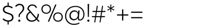 Averta Std PE Light Font OTHER CHARS