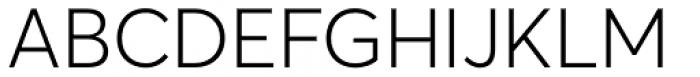Averta Std PE Light Font UPPERCASE