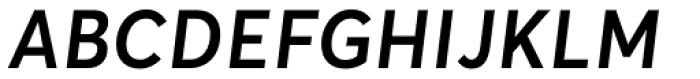 Averta Std SemiBold Italic Font UPPERCASE