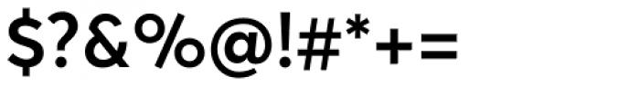 Averta Std SemiBold Font OTHER CHARS
