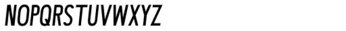 Avi Sans Monocase Italic Font UPPERCASE