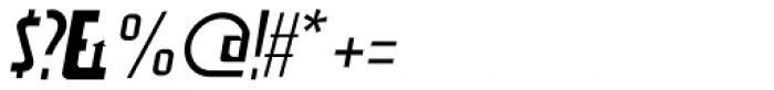Aviana Italic Font OTHER CHARS