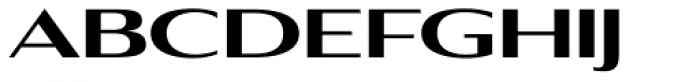 Aviano Contrast Black Font LOWERCASE