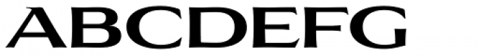 Aviano Flare Bold Font UPPERCASE