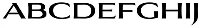 Aviano Flare Medium Font LOWERCASE