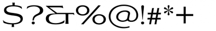 Aviano Flare Regular Font OTHER CHARS
