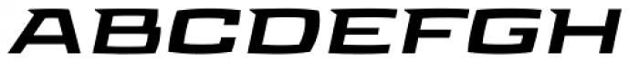 Aviano Future Black Fast Font UPPERCASE