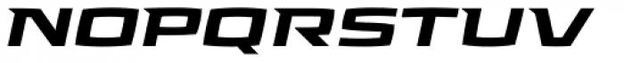 Aviano Future Black Fast Font LOWERCASE